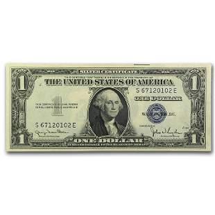 1935-D $1.00 Silver Certificate CU (Fr#1613W) Wide Seal