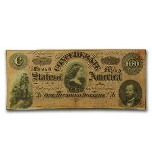 1864 $100 (T-65) Lucy Pickens XF