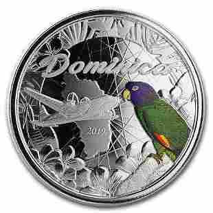 2019 Dominica 1 oz Silver Sisserou Parrot Proof