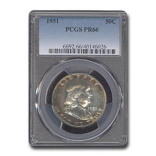 1951 Franklin Half Dollar PR-66 PCGS