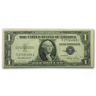 1935s $1.00 Silver Certificates CU