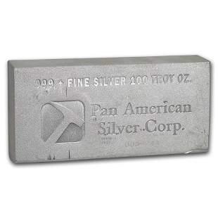 100 oz Silver Bar - Pan American Silver Corp