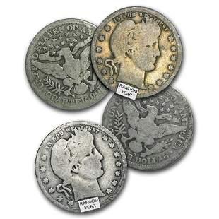 $1.00 Face Value Barber Quarters Avg Circ