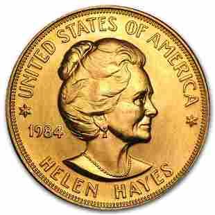 U.S. Mint 1 oz Gold Commemorative Arts Medal Helen