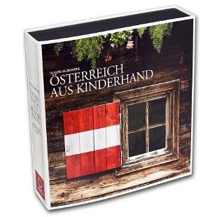OGP Box - 2012-2016 Austria 9-Coin Silver Piece by
