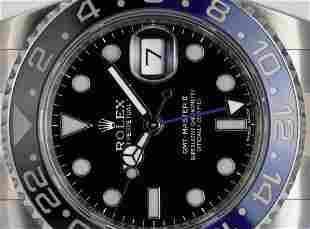 Pre-Owned Rolex GMT-Master II 116710 - Batman