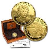 2015-W 1/2 oz Proof Gold Bess Truman (w/Box & COA)