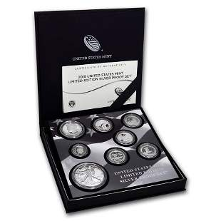 2018 Limited Edition Silver Proof Set
