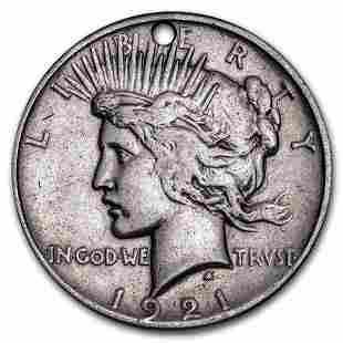 1921 Peace Dollar High Relief (Culls)