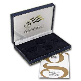 OGP Box & COA - 2008 (W) 4-Coin Burnished Gold American