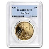 2017-W 1 oz Proof American Gold Eagle PR-70 PCGS
