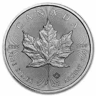 2016 Canada 1 oz Silver Maple Leaf BU