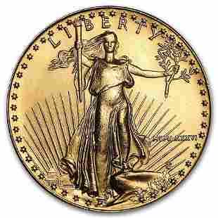 1986 1 oz American Gold Eagle BU (MCMLXXXVI)