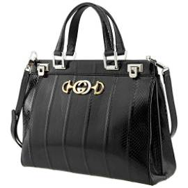 Gucci Zumi Snakeskin Medium Top Handle Bag 564714 LYQ0X