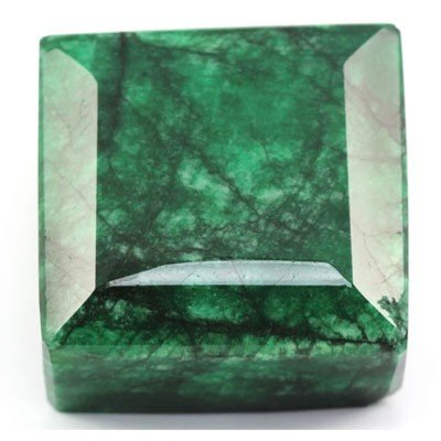 01A: 2571.75ctw Natural Big Emerald Gemstone Square Sha