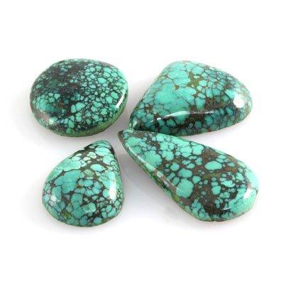 Natural Turquiose Mix Shape Gemstone, 520.5ctw