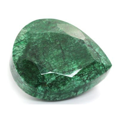 1954.20ctw Natural Big Emerald Gemstone Pear Shape