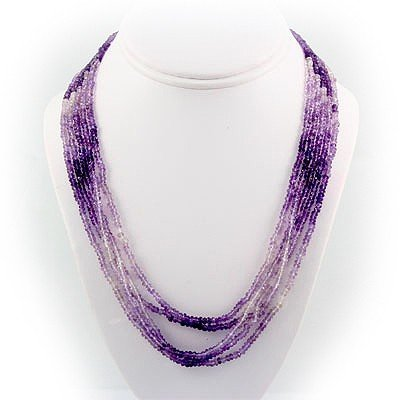 268.50ctw Faceted Amethyst Silver Full Sets, 6377 MSRP