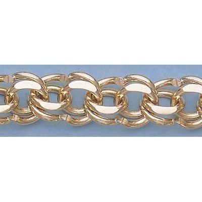 "Pure Gold 7.5"" 14k  Gold-Yellow 11.0mm Charm Bracelets"