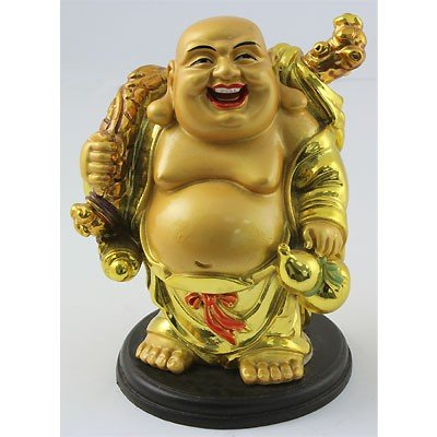 Chinese Happy Buddha For Prosperity and Wealth