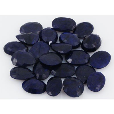 357.78ctw  Sapphire Loose Stone Mix 19-20mm approx in l