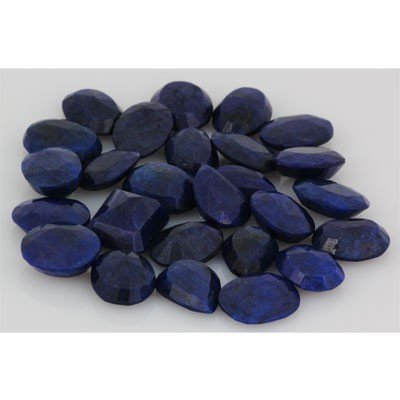 277.39ctw  Sapphire Loose Stone Mix 15-16mm approx in l