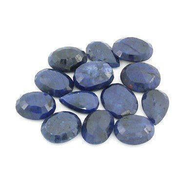 141.40ctw  Sapphire Loose Stone Mix 16-17mm approx in l