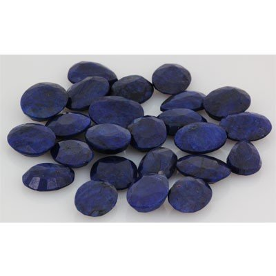 257.81ctw  Sapphire Loose Stone Mix 16-17mm approx in l