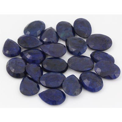 378.04ctw  Sapphire Loose Stone Mix 20-21mm approx in l