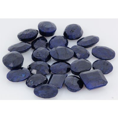 245.01ctw  Sapphire Loose Stone Mix 15-16mm approx in l