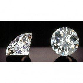 EGL Certified Diamond  Round 0.52ctw  F,SI2