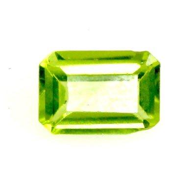 22.0 ctw Emerald Cut Peridot Natural Gemstone