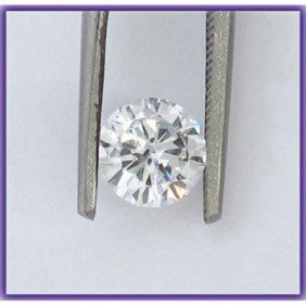 Certified 0.54 ct Round Brilliant Diamond J,VS1