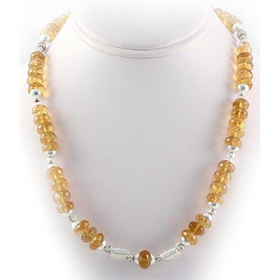 454.5ctw Citrine Gemstone in Full Sets Silver