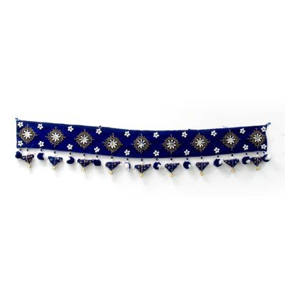 Indian Art Wall Door Decoration with Beads and Bells