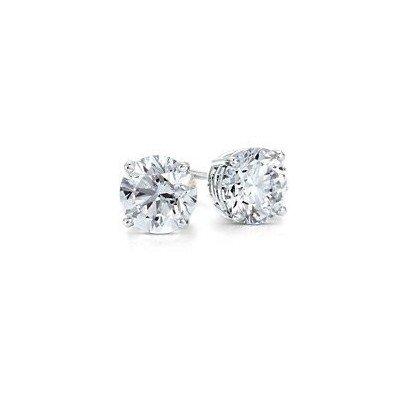 0.15 ctw Round cut Diamond Stud Earrings G-H, SI2