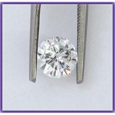 Certified 0.60 ct Round Brilliant Diamond K,SI1