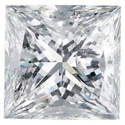 GIA 1.01 ctw Certified Princess Brilliant Diamond F,VS1