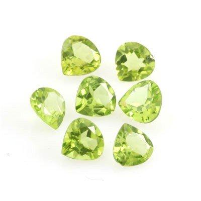 5.00 ctw Trillion Cut Peridot Natural Gemstone