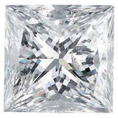 EGL USA 1.07 ctw Certified Princess Brilliant Diamond F