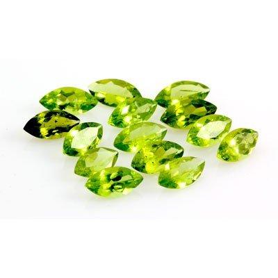 36.50 ctw Marquise Cut Peridot Natural Gemstone