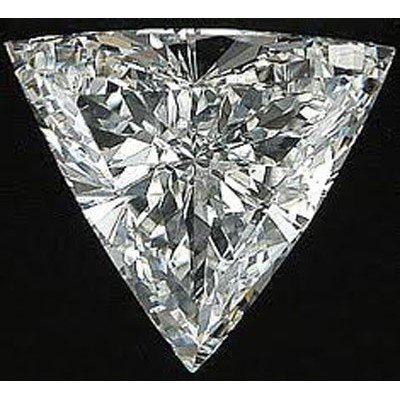 EGL USA 1.05 ctw Certified Trilliant Brilliant Diamond