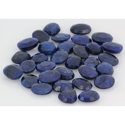 302.80ctw Sapphire Loose Stone Mix 14-15mm approx in le