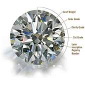Certified 152 ct Round Brilliant Diamond FSI3