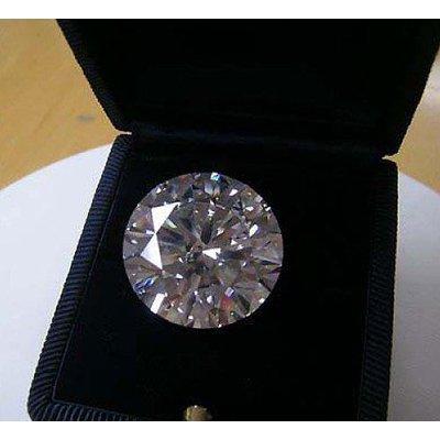 EGL Certified Diamond Round 0.56ctw F,SI2