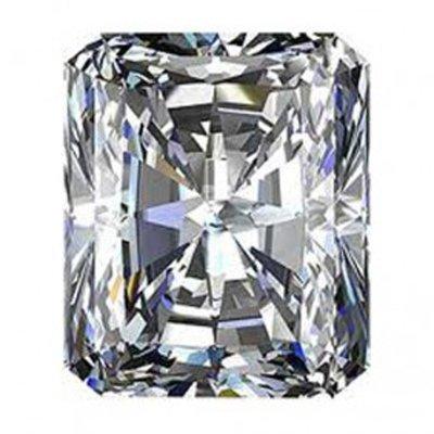 GIA 0.71 ctw Certified Radiant Brilliant Diamond E,VVS2
