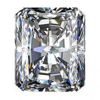 GIA 0.71 ctw Certified Radiant Brilliant Diamond D,VVS1
