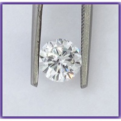 Certified 2 ct Round Brilliant Diamond H,SI1