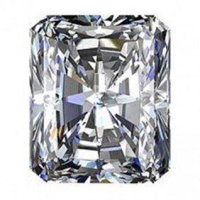 EGL USA0.96ctw Certified RadiantBrilliant Diamond H,SI2