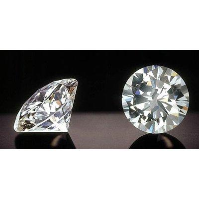 EGL Certified Diamond Round 0.53ctw D,SI2